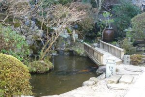 Picturesque Japanese gardens enhance your stay.
