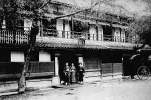 Рёкан Кия в начале 20-го века