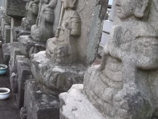 Buddhist warriors on guard
