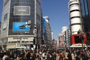 มองตรงไปคือถนนอิโนะคะชิระ