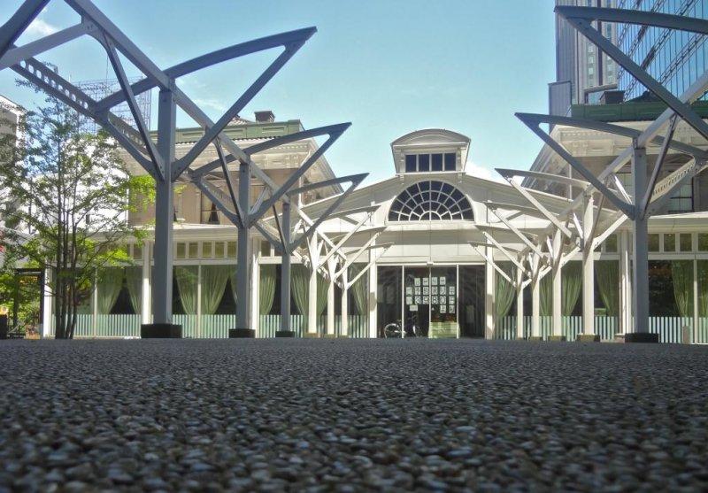 Old Shimbashi Station building