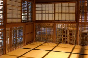 Step into this life size tea house and step back in time