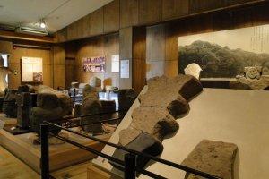 Выставка артефактов гробницы в историческом музее
