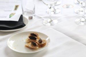 Sake with rich foie gras
