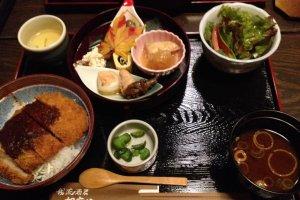 Gomaya Miso Katsu set menu