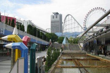 Один из видов Tokyo Dome City