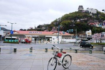 วิธีเช่าจักรยานปั่นที่โอโนมิชิ