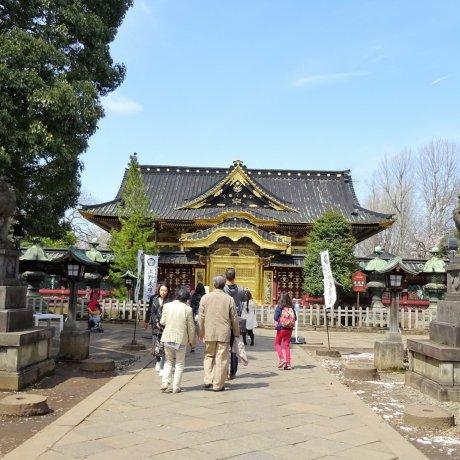 ศาลเจ้าโทะโชะกุแห่งสวนอุเอะโนะ