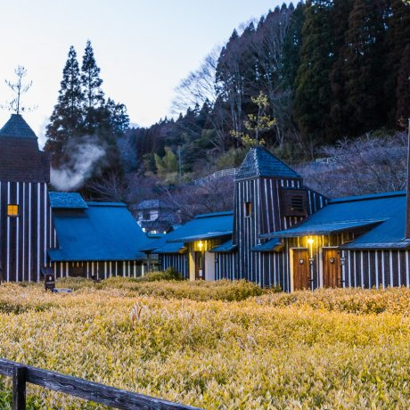 Nagayu Onsen's Carbonated Baths