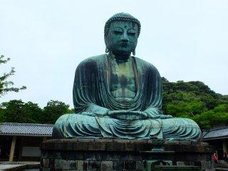 Statue of Amida Buddha at Kotoku-in