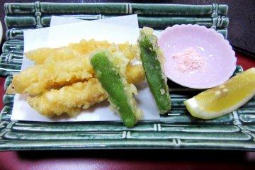 Тэмпура - одно из самых любимых японских блюд