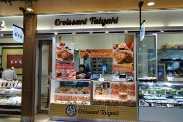 ร้าน Croissant Taiyaki ในสถานีอุเอะโนะ