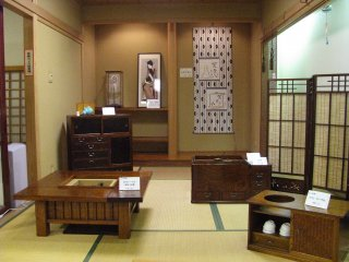 Traditional furniture produced in Taito City