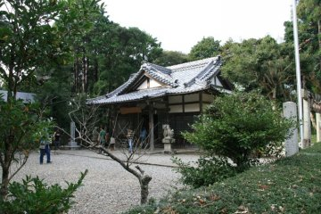 The main shrine worshipped by the Ama San women divers.