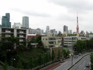 The view to Roppongi