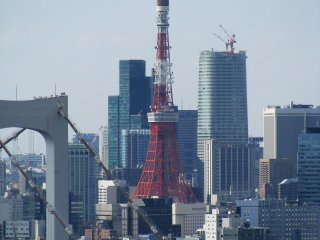 Closer view with Tokyo Tower