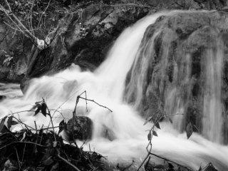 Nunobiki Falls backwater