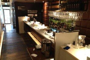 Briccone's well stocked bar