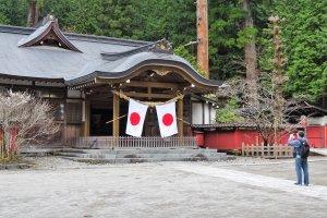 หนึ่งในหลายอาคารของ ศาลเจ้าฟุทะระซาน (Futarasan)