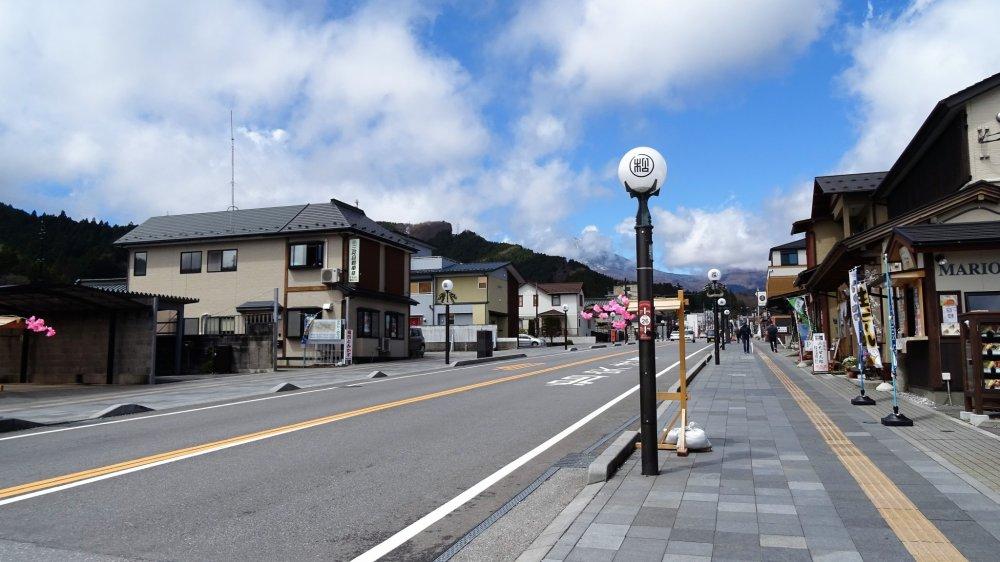 ถนนหลักของนิกโกะ