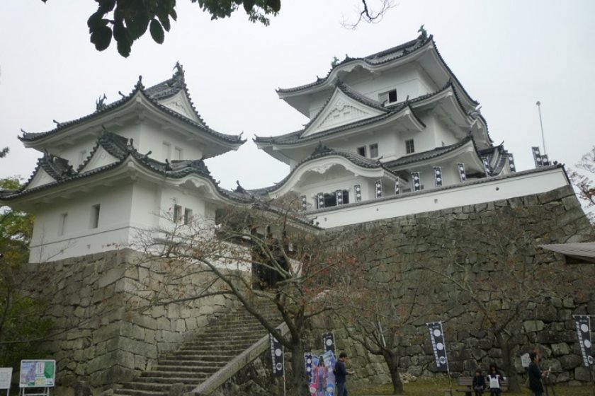 The elegant Iga Ueno Castle