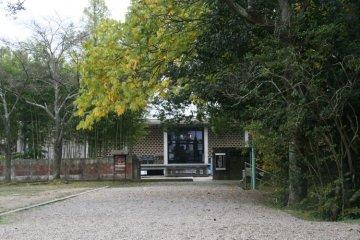 The nearby Matsuo Basho memorial museum