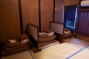 Basic, comfortable, Japanese-style rooms