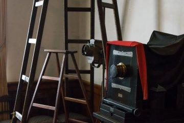 The original photography equipment of Japanese photography pioneer, Kenzo Kobayashi.