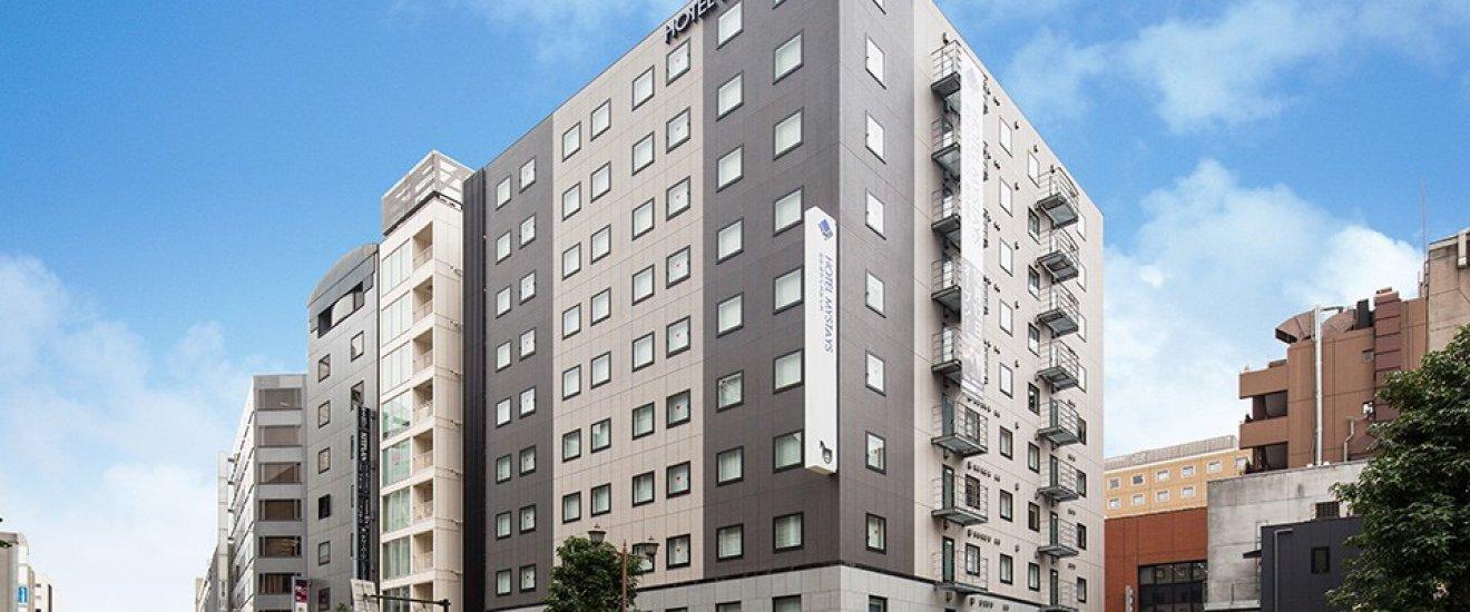 อาคารโรงแรมมายสเตย์ โยโกฮะมะ คันไน (HOTEL MYSTAYS Yokohama Kannai)