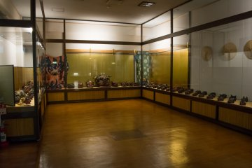 The Karakuri Museum boasts a collection of over 300 lion masks.