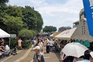 ในปี 2017 'บุนเกียว อะจิไซ มัตซึตริ' มีขึ้นตั้งแต่วันที่ 10-18 มิถุนายน