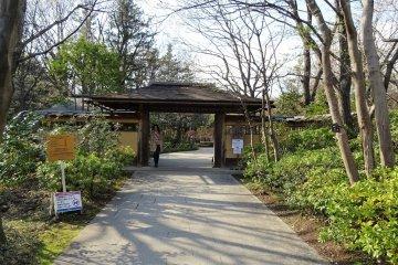 สวนญี่ปุ่นแห่งสวน Showa Memorial Park