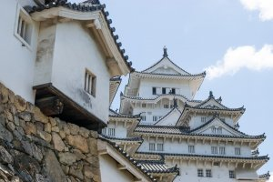 "Himeji Castle, which served as the backdrop for Akira Kurosawa's ""Kagemusha"" and ""Ran."""