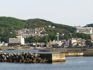 Ито - совсем небольшой городок у океана