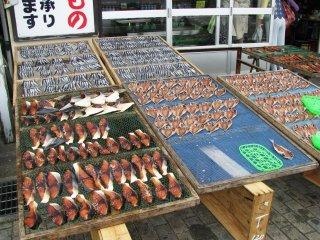 в Ито можно купить любую рыбу!