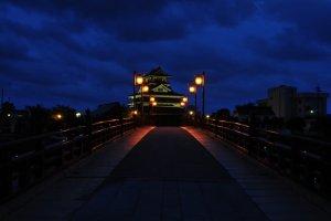 Kiyosu Castle at night