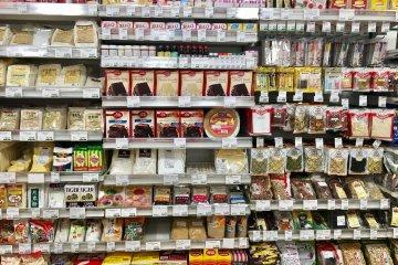 The baking aisle