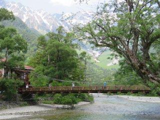 Мост Каппа-баси с левого берега