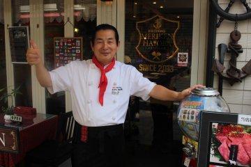 Sonoshi Okumoto, chef and owner