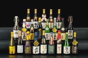 The 2016 brewing season Gold Prize winning sake
