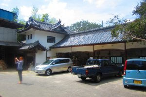 The main building of Fukuda Kiln