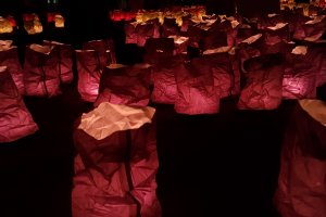 Close up of lanterns