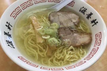 Ramen Jiyouken di Hakodate