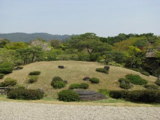 Сад камней в Наре