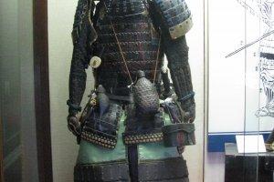 Доспехи самурая в замке