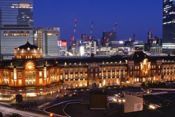 The New Tokyo Station