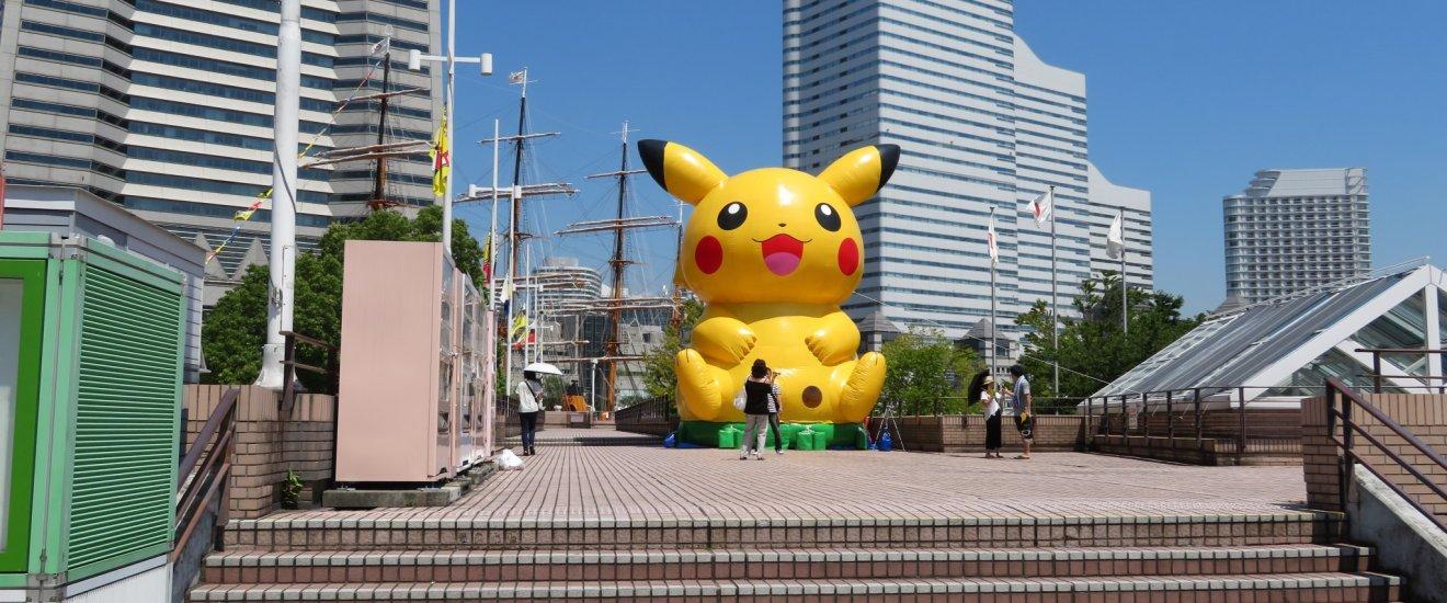 Yokohama Pokemon Summer Kanagawa Japan Airlines Japan Tourism