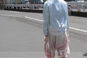 Экстравагантные брюки