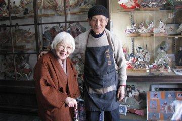 Мои хорошие знакомые - владельцы кукольной мастерской в Мацумото