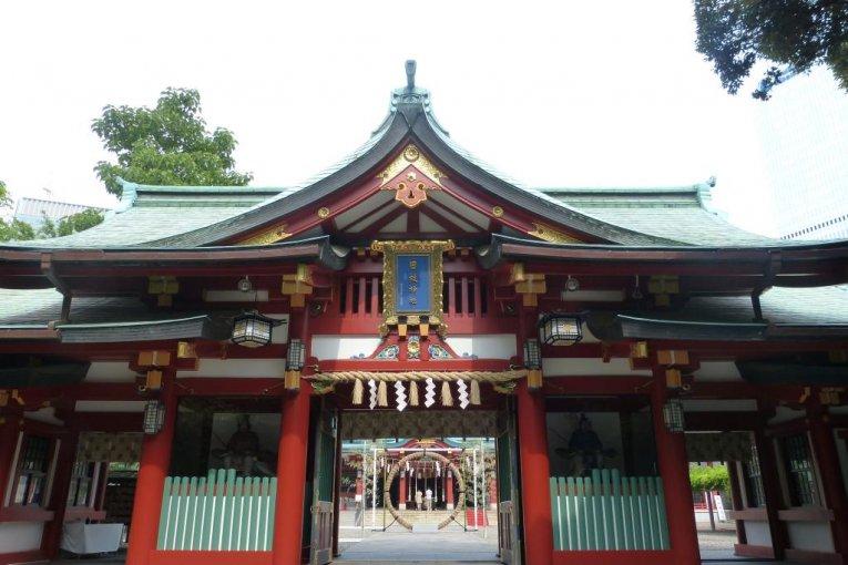 Le Sanctuaire Hie-jinja à Akasaka
